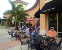 Patio @ Tony Saccos Estero