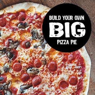 Build Your Own BIG Pizza Pie