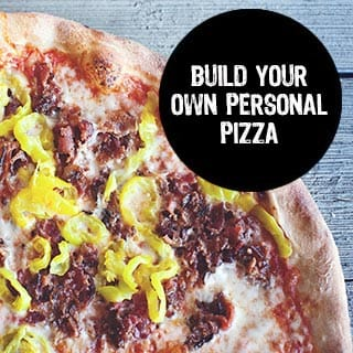 Build Your Own Personal Pizza