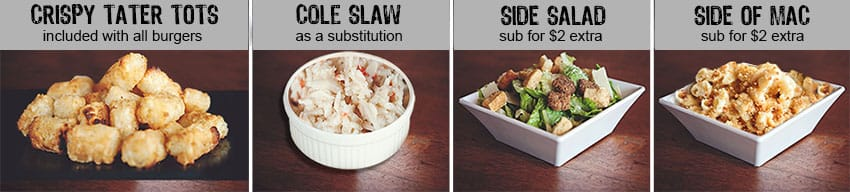 Burger Sides & Substitutions