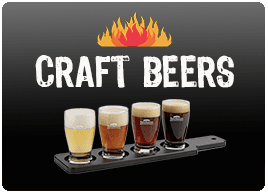 Craft Beers at Saccos