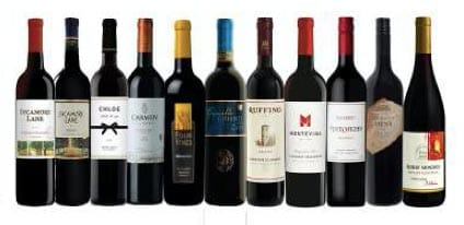 Red Wines List