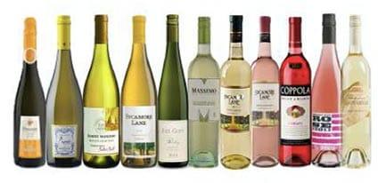 White Wines List