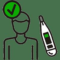 Covid Safety - Temperature Check