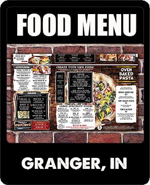 Granger Food Menu