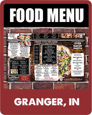 Granger Food Menu