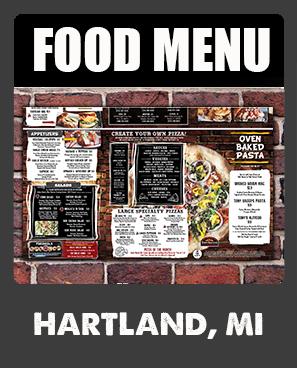 Hartland Food Menu