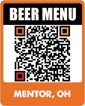 Mentor Beer Menu