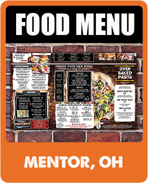 Mentor Food Menu